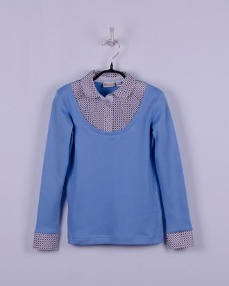 BoGi. Блуза трикотажна для дівчинки довгий рукав. Полтава. фото 1