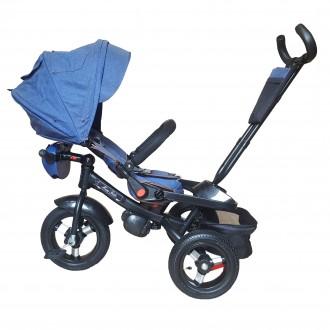 Велосипед триколісний Mini Trike T400-17 JEANS. Бровары. фото 1