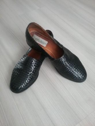 Кожаные туфли слиперы, Manuela Pollini. Киев. фото 1