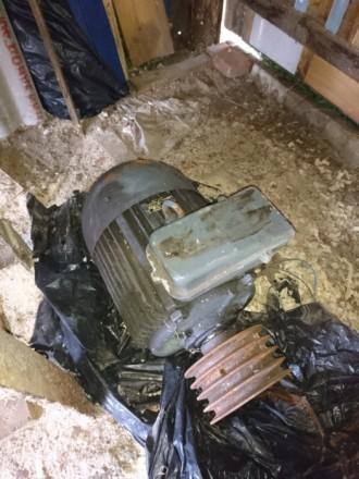 Электрический двигатель, рабочий. Звоните отвечу на любые вопросы. Характеристик. Чернигов, Черниговская область. фото 4