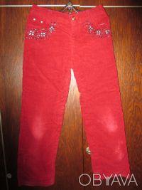брюки на девочку 7-9 лет ,на теплой подкладке.длина-76см.ширина в свободном сост. Суми, Сумська область. фото 2