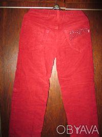 брюки на девочку 7-9 лет ,на теплой подкладке.длина-76см.ширина в свободном сост. Суми, Сумська область. фото 3