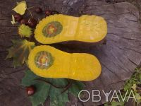 Ботинки натуральная замша шоколадного цвета'внутри--- полностью серая кожа'даже . Чернигов, Черниговская область. фото 5