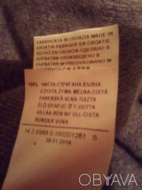 Свитер фирменный BENETTON, классическая модель для базового гардероба на холода.. Чернигов, Черниговская область. фото 8