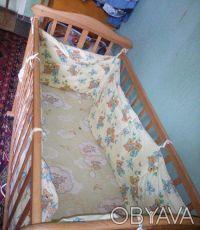 Детская кроватка. Сумы. фото 1