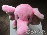 мягкая игрушка слоник в очень хорошем состоянии,чистая,высота игрушки 25см. Суми, Сумська область. фото 3