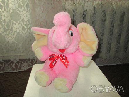 мягкая игрушка слоник в очень хорошем состоянии,чистая,высота игрушки 25см. Суми, Сумська область. фото 1