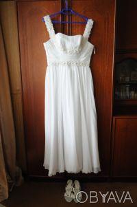 Элегантное свадебное платье в греческом стиле!. Сумы. фото 1