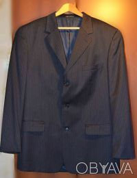 Шерстяной костюм для высокого крупного мужчины. Одесса. фото 1
