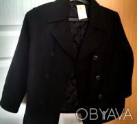 Продам шерстяное пальто Сrazy8 на стильного маленького денди. Харьков. фото 1