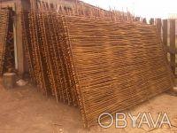 Производим плетеный забор из лозы. Материал - лещина, орешник. Забор производим . Чернигов, Черниговская область. фото 5