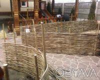 Производим плетеный забор из лозы. Материал - лещина, орешник. Забор производим . Чернигов, Черниговская область. фото 4