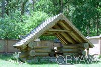 Коттедж расположен на живописном участке 15 соток с выходом в сосновый лес, рядо. Горенка, Киевская область. фото 11