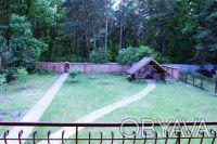 Коттедж расположен на живописном участке 15 соток с выходом в сосновый лес, рядо. Горенка, Киевская область. фото 9