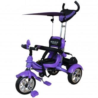 Велосипед 3-х колісний Mars Trike з надувними колесами. Бровары. фото 1