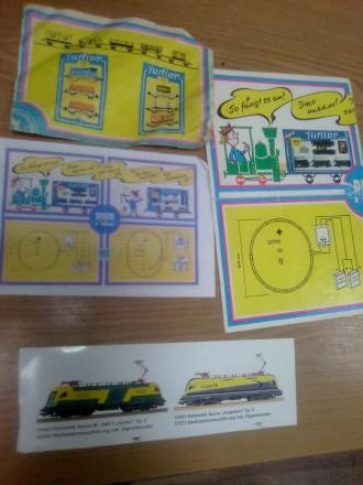 Инструкции к железнодорожным моделям Pico. Днепр. фото 1