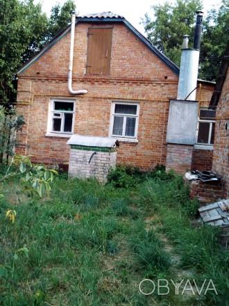 Дом рн Барановки в красивом месте: подьезд асфалльт, а участок выходит на другую. Сумы, Сумская область. фото 1
