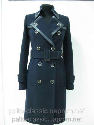 Пальто женское, строгое, фирменное. Белая Церковь. фото 1