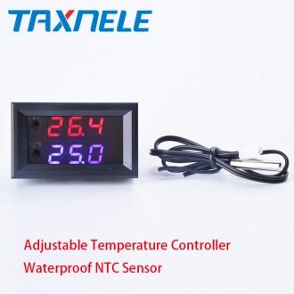 Терморегулятор XH-W1209WK с диапазоном регулировки температуры от -50 до 110 °С.. Энергодар, Запорожская область. фото 2