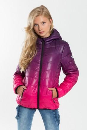 Reporter Young демисезонная куртка для девочек Violet. Одесса. фото 1