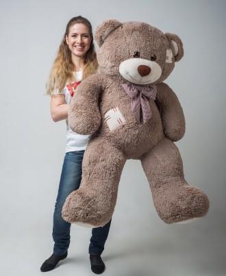 Плюшевый мишка медведь c латками мягкая игрушка 150 см ДВА цвета. Киев. фото 1