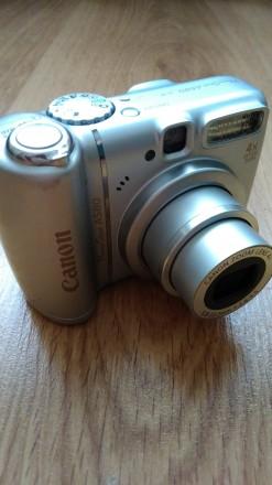 Цифровой фотоаппарат Canon PowerShot A580. Сумы. фото 1