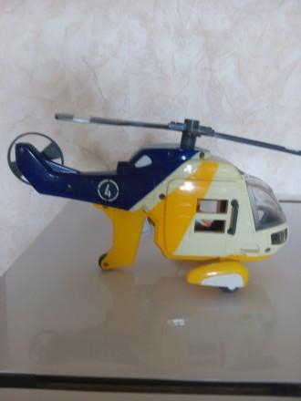 Вертолет спасатель с экипажем спасательной люлькой, автомат намотка.. Киев. фото 1