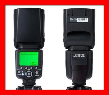 TTL вспышка для Nikon и Canon TR-982III с 1/8000, 2.4G и синхронизатор. Одесса. фото 1