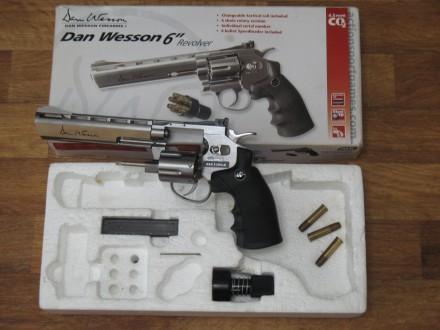 Продам пистолет ASG Dan Wesson 6'' Silver. Дніпро. фото 1