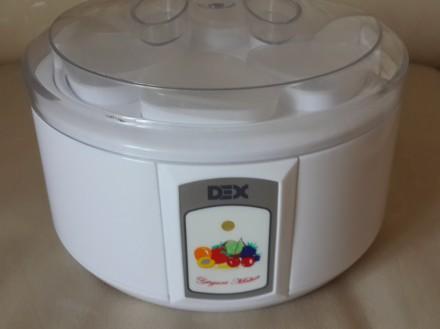 Продается йогуртница ,,DEX,, модель: DUM107 с электроподогревом в очень хорошем . Запорожье, Запорожская область. фото 2