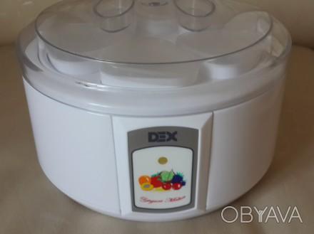Продается йогуртница ,,DEX,, модель: DUM107 с электроподогревом в очень хорошем . Запорожье, Запорожская область. фото 1
