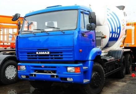 Новый автобетоносмеситель TZA-58149Z барабан 9 м3 на шасси КамАЗ-6520. Киев. фото 1