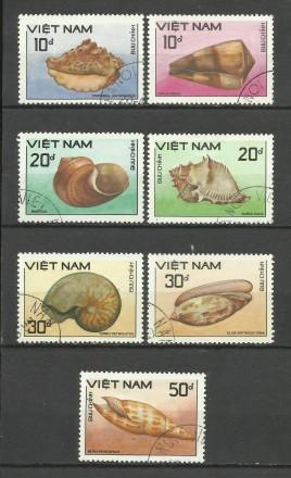 Продам марки Вьетнам  7 шт.. Киев. фото 1