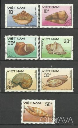 Продам марки  Вьетнам 7 шт.  (гашеные)  35 грн.                                 . Киев, Киевская область. фото 1