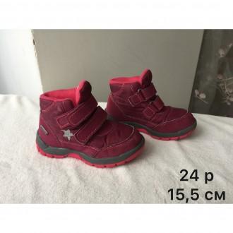 Детские ботинки из комбинированных материалов с кожей – купить обувь ... c605f64a78478