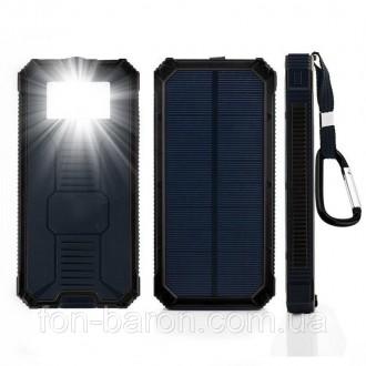 Power Bank Solar 40000mAh – это качественное устройство, которое соединило в себ. Мариуполь, Донецкая область. фото 11