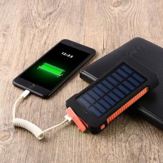 Power Bank Solar 40000mAh – это качественное устройство, которое соединило в себ. Мариуполь, Донецкая область. фото 13