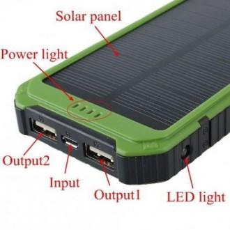 Power Bank Solar 40000mAh – это качественное устройство, которое соединило в себ. Мариуполь, Донецкая область. фото 6
