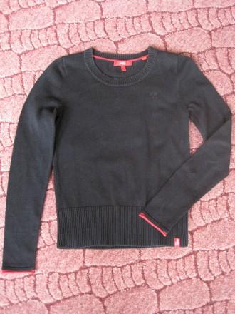 Черный джемпер на мальчика 6-9 лет, Германия, хлопок.. Мелітополь. фото 1