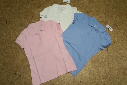 Школьная футболка поло Old Navy для девочки 6-8 лет.. Днепр. фото 1