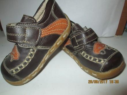 Новые кожаные туфли,ботинки.. Никополь. фото 1