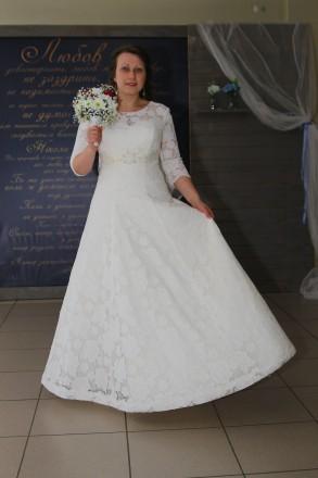 Платье свадебное айвори. Черкассы. фото 1