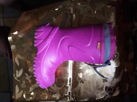 511c05d075e8b6 Дитячі рожеві гумові чоботи - купити взуття для дітей на дошці ...