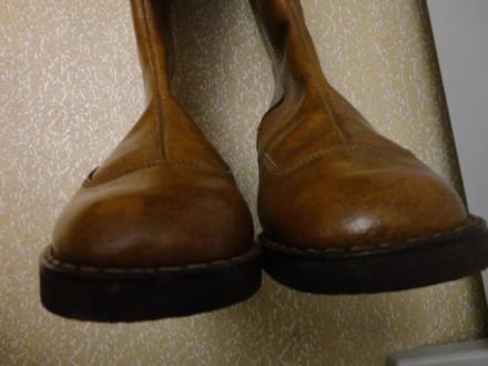 Сапоги зимние тёплые на молнии. Размер 36. Высокий подъём. Невысокий каблук. Дли. Мелитополь, Запорожская область. фото 4