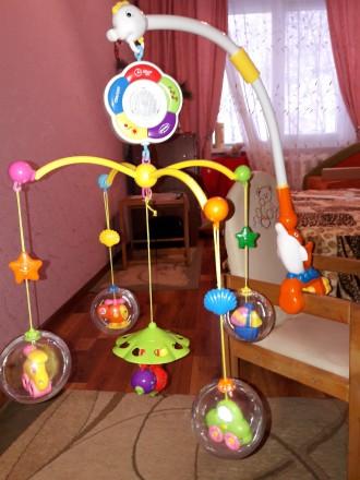 Карусель для детской кроватки. Житомир. фото 1