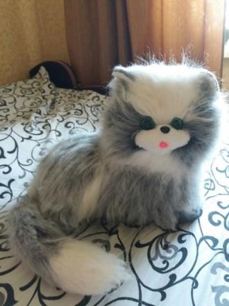 СРОЧНО!Продам мягкую игрушку котика. Покровск (Красноармейск). фото 1