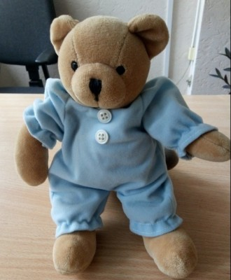 М'яка іграшка ведведик. Мягкая игрушка медвежонок (Мишка).. Киев. фото 1
