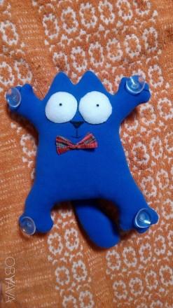 Мягкая игрушка кот Саймона. Киев. фото 1