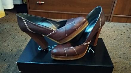Продам женские туфли San Marina Paris. Натуральная кожа. Бердянск. фото 1