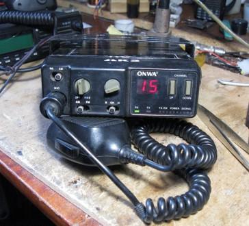 Продам радиостанцию рация 27мгц. Кропивницкий. фото 1